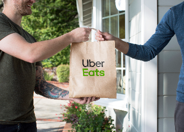 Entrega a través de UberEats