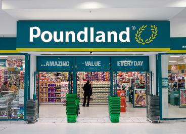 Entrada a una tienda Poundland