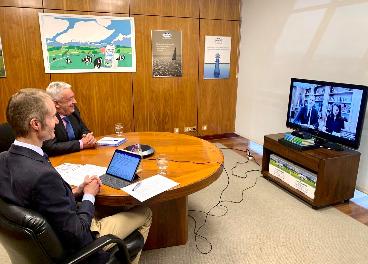 Videoconferencia de Capsa y SSMM Los Reyes