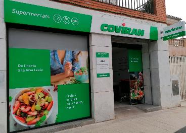 Covirán abre tiendas en Barcelona y Granada