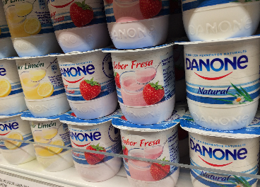 Yogures de Danone