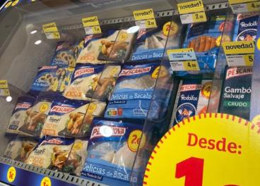 Productos de Pescanova con precios redondos