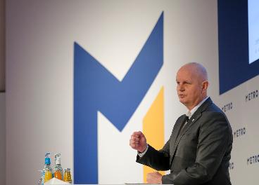 Olaf Koch, presidente de Metro