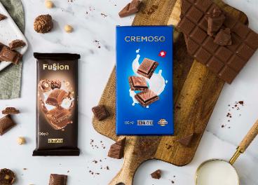 Chocolates Fussion y Cremoso de Mercadona