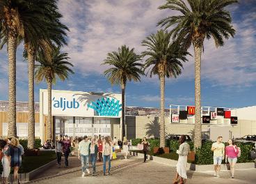 Centro comercial L'Aljub en Elche