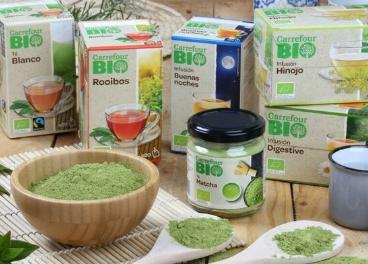 Nueva gama de tés e infusiones de Carrefou BIO