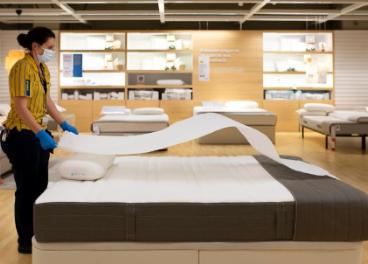 Trabajadora de Ikea