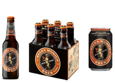 Nueva imagen de cerveza negra Bock Damm