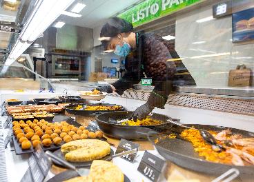 Sección 'Listo para Comer' de Mercadona
