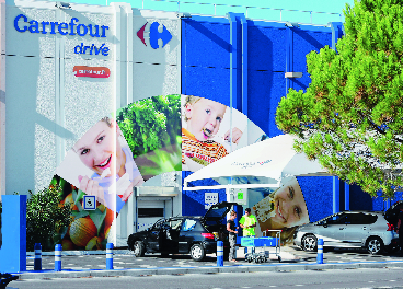 Carrefour Drive en Francia
