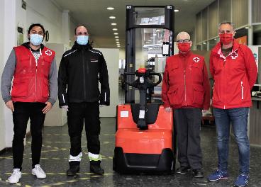 Donación de Toyota Material Handling a Cruz Roja