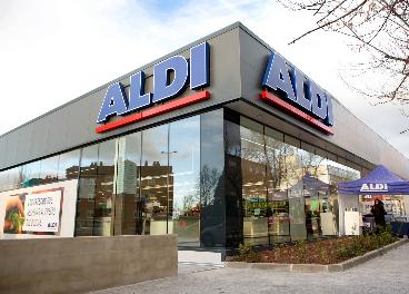 Tienda de Aldi en Guadarrama (Madrid)