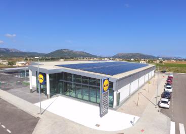Paneles solares de Lidl