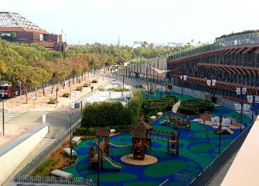 Parque infantil CC Torre Sevilla