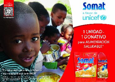 Somat colabora con Unicef