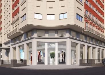 Zara, Zara Home y Stradivarius Edificio España