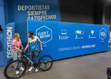 Clic and Collect de Decathlon España