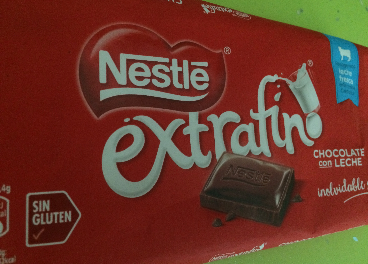 Tableta de chocolate de Nestlé