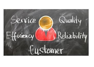 Valores en atención al cliente