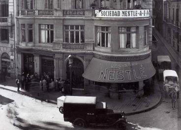 Sociedad Nestlé españa