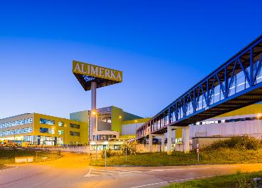 Centro de distribución de Alimerka