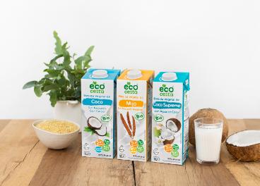 Bebidas vegetales Ecocesta