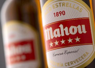 Cerveza Mahou Cinco Estrellas