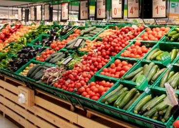 Fruta y verdura en Bon Preu