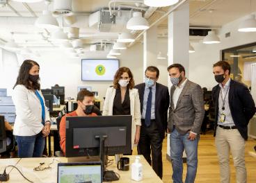 Glovo inaugura un tech hub en Madrid