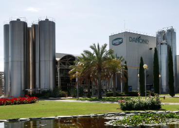 Fábrica de Danone en Aldaya (Valencia)