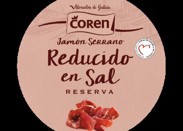 Coren jamón reducido en sal
