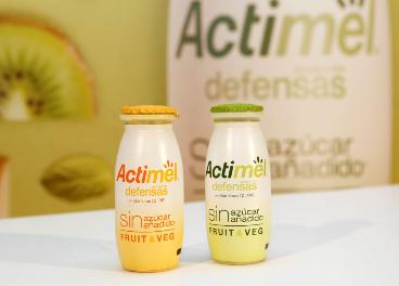 Actimel Fruit&Veg Sin Azúcar Añadido