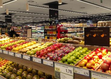 Supermercado BM de Uvesco en Boadilla