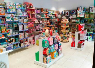 Interior de una tienda de Eurekakids