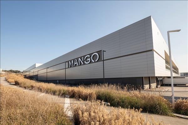 Centro de distribución de Mango en Lliçà d