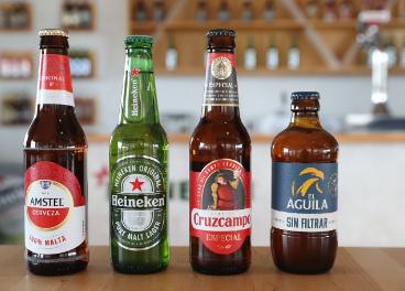 Cervezas de Heineken