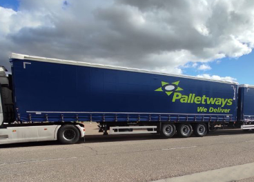 Megacamión de Palletways