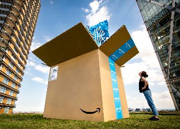 Caja de Amazon Prime