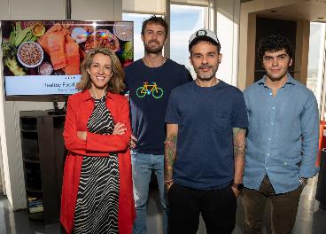 Participantes en la presentación de Google