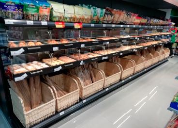 Lineal en supermercado