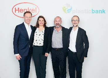 Firma del acuerdo entre Henkel y Plastic Bank