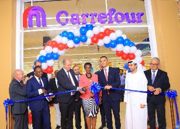Primera tienda de Carrefour en Uganda