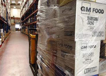 Donación de GM Food a Cáritas