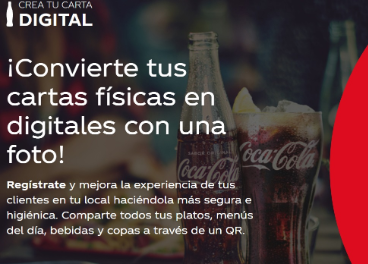 Crea tu carte digital de Coca-Cola