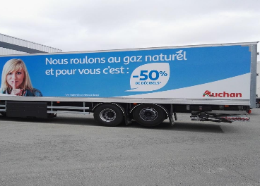 Auchan transforma su logística y transporte