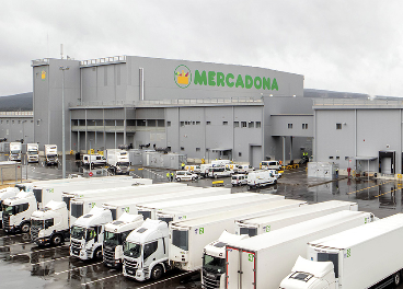 Bloque logístico de Mercadona en Euskadi