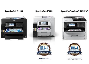 Impresoras de Epson premiadas por BLI Buyers Lab