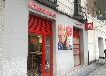 Primer drive peatonal de Alcampo en España