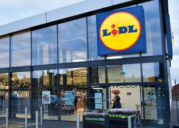 Tienda de Lidl en Reino Unido