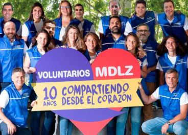 Voluntarios de Mondelez